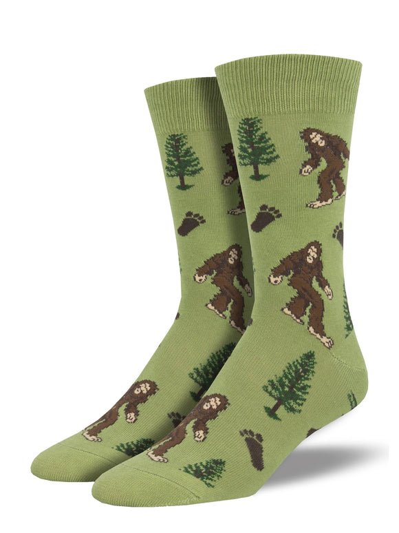 Men's Socksmith Bigfoot Socks in Moss Green
