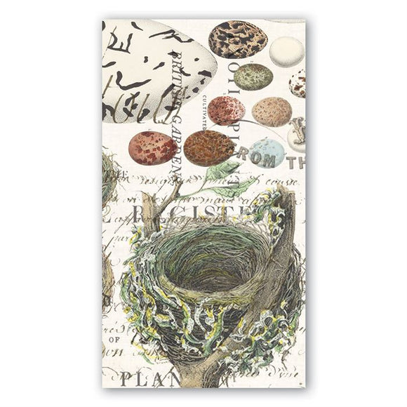Nest & Eggs Hostess Napkin Michel Design Works