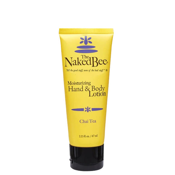 Naked Bee Chai Tea Hand & Body Lotion 2.25oz Tube
