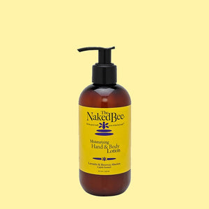 Naked Bee Lavender & Beeswax Absolute Hand & Body Lotion 8oz Pump