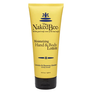 Naked Bee Lavender & Beeswax Absolute Hand & Body Lotion 6.7oz Tube