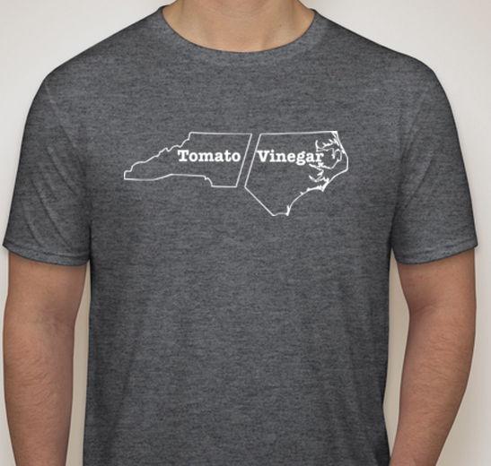 Men's Tomato Vinegar North Carolina State T-Shirt in Gray House of Swank