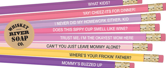 Pencil Set Okay Moms