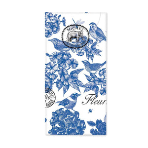 Pocket Tissues Indigo Cotton Michel Design Works