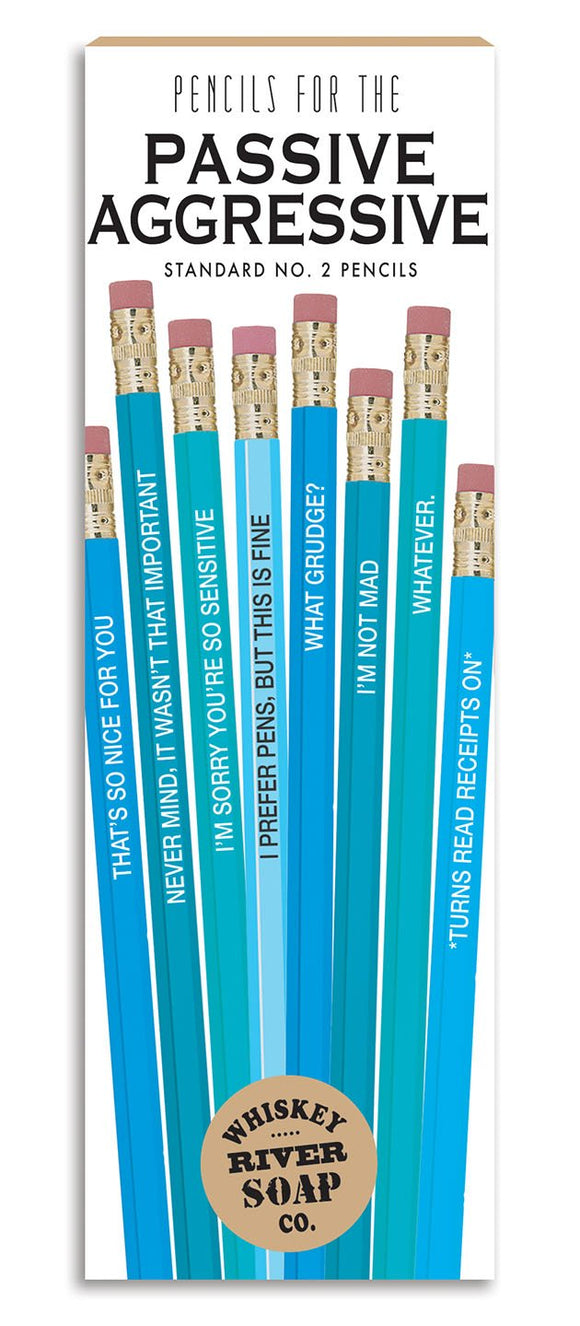 Pencil Set Passive Aggressive