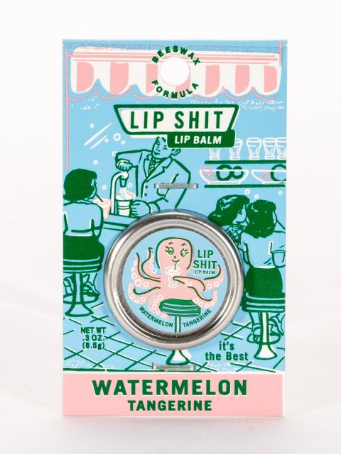 Lip Shit Watermelon Tangerine Lip Balm