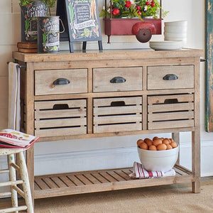 Modern Farmhouse Sideboard Kitchen Table