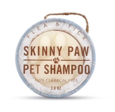 Chemical Free Dog Shampoo – Flea & Tick 3.8 Ounces
