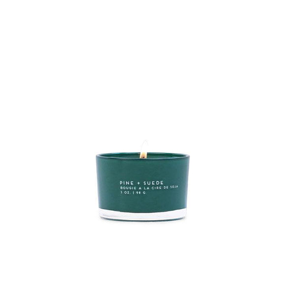 Pine + Suede Paddywax Statement Candle 3oz in Glass