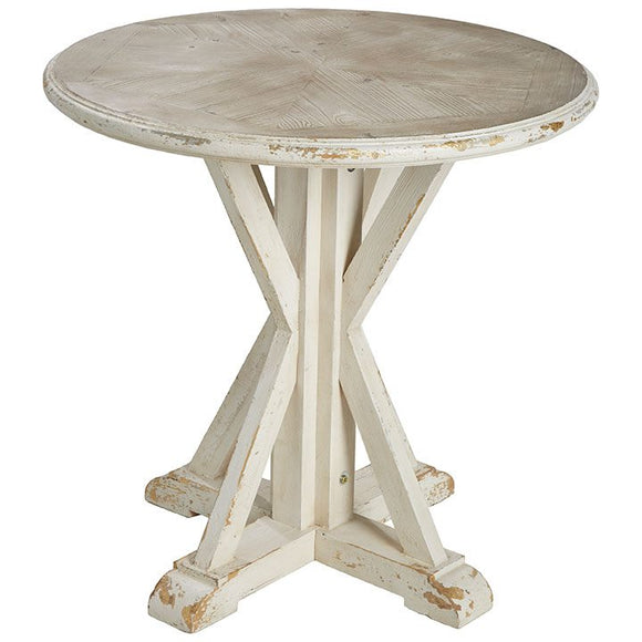 Round End Table or Small Bistro Table