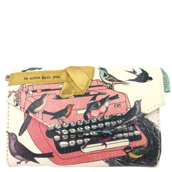 Typewriter Bird Wallet by House of Disaster