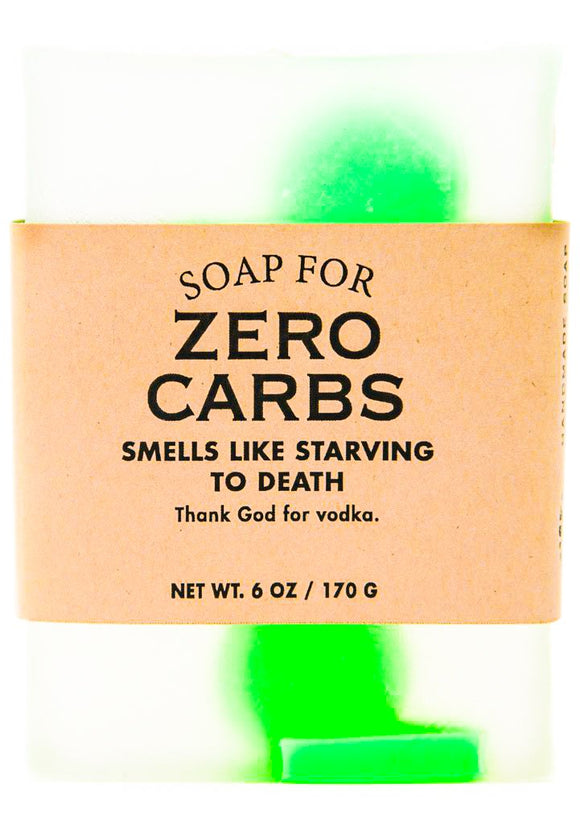 Whiskey River Soap - Zero Carbs Soap