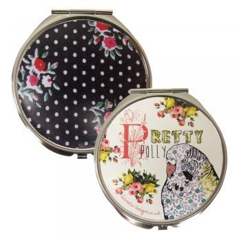 Ditsy Compact Mirror