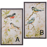 "2 Assorted 34"" Bird Print - Sold Separately"