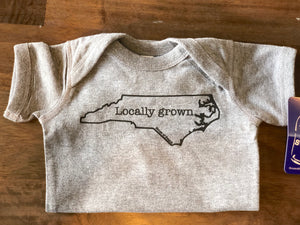 Locally Grown Onesie in Gray House of Swank