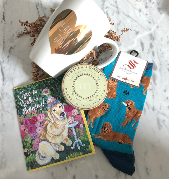 Golden Retriever Birthday Gift Collection