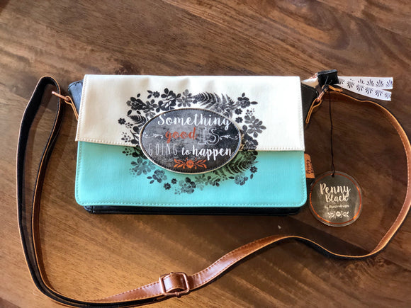 Penny Black Purse - Something Good is About to Happen