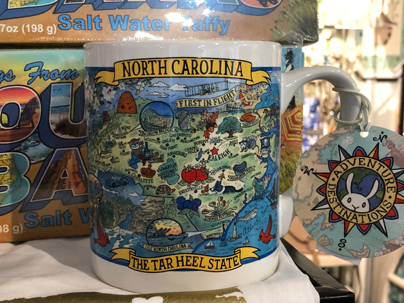 Souvenir Jumbo Mug North Carolina
