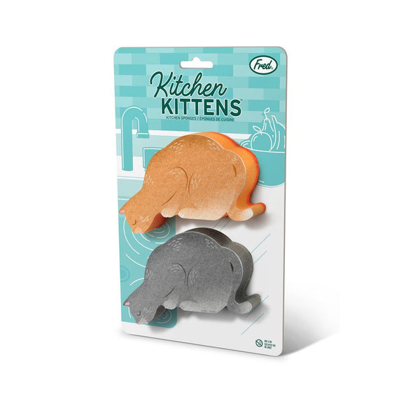 Kitchen Kittens Set of 2 Sponges for the Kitchen