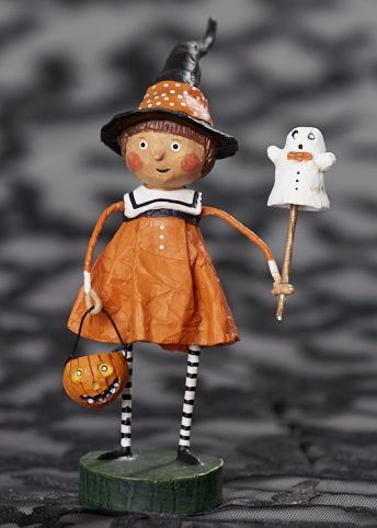 Precious Pumpkin Figurine by Lori Mitchell