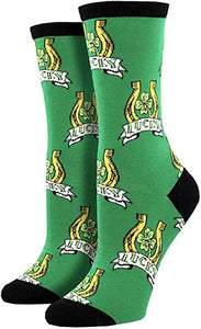 Women's Socksmith Luck of the Irish Socks In Green