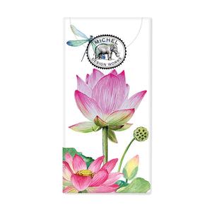 Pocket Tissues Water Lilies Michel Design Works