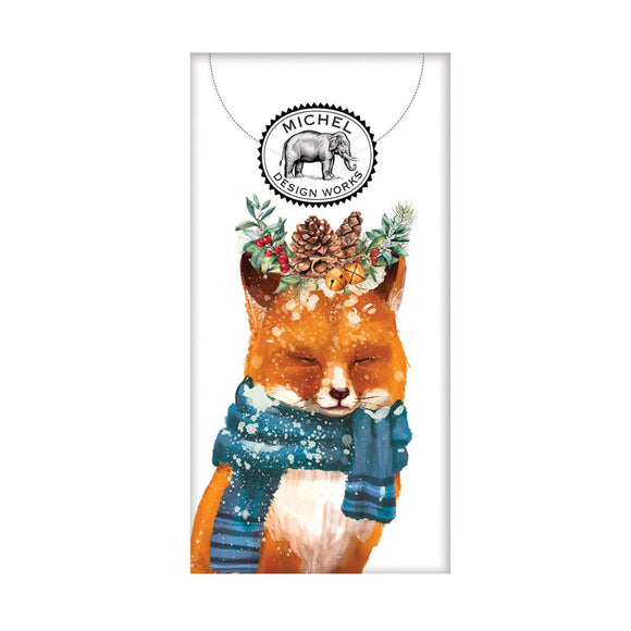 Christmas Fox Pocket Tissue