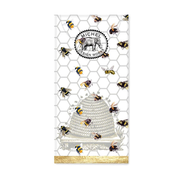 Pocket Tissues Honey & Clover Bee Michel Design Works