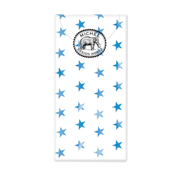 Pocket Tissues Blue Stars Michel Design Works