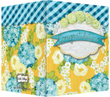Congratulations! - Blank Inside - Yellow & Turquoise Flowers