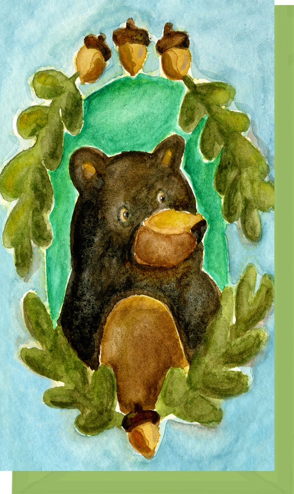 Small Enclosure Card - Black Bear