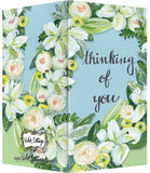 Small Enclosure Card - Thinking of You Flowers
