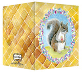 Squirrel with Ice Cream Greeting Card - Blank Inside