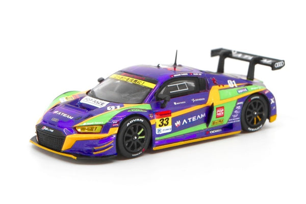 POPRACE 1/64奧迪R8 LMS SUPER GT 2020 #33 EVA RT TEST TYPE-01 XWORKS R8