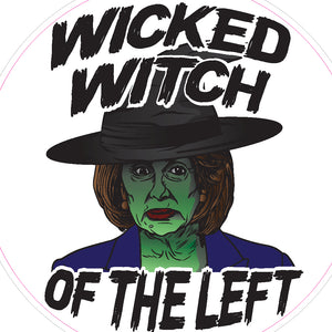 Wicked Witch of the Left Decal