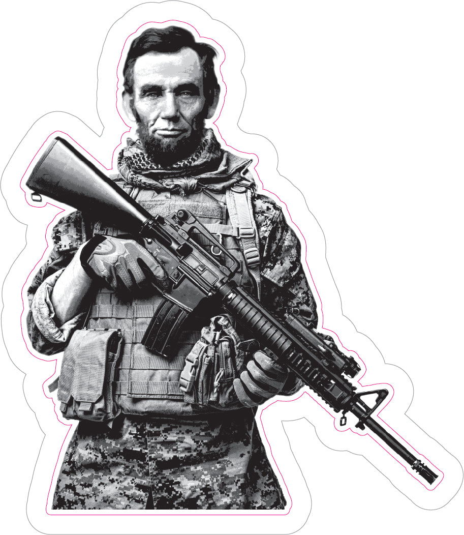 Tactical Abe Decal