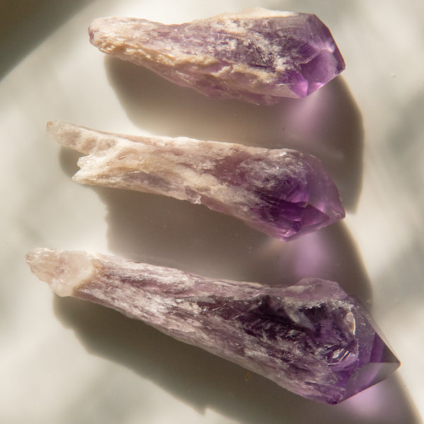 Elestial Amethyst Root Point