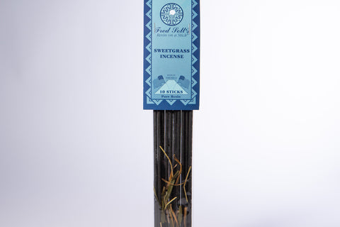 Sweetgrass Incense (10 Sticks)