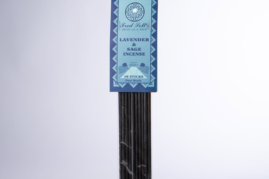 Lavender & Sage Incense (10 Sticks)