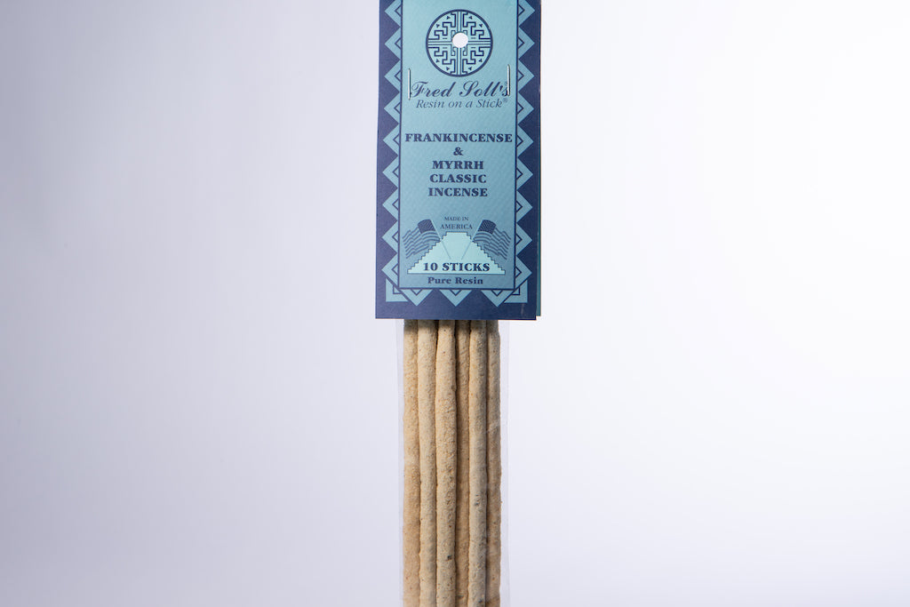 Frankincense & Myrrh Classic Incense (10 Sticks)
