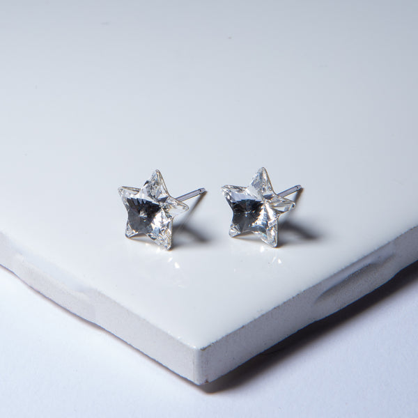 Swarovski Stud Earring (Large, Star)