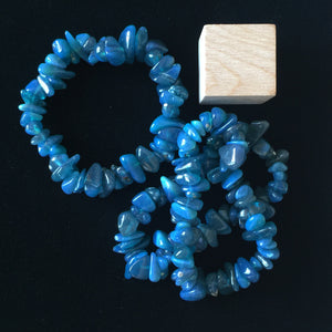 Swedish Blue Slag Bracelet