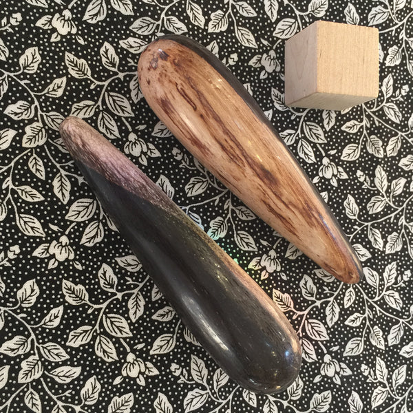Petrified Wood Massage Wand