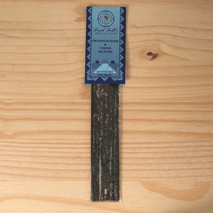 Frankincense and Cedar Incense (10 Sticks)