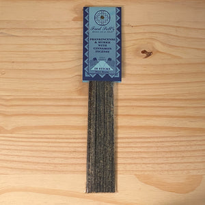 Frankincense and Myrrh with Cinnamon Incense (10 Sticks)