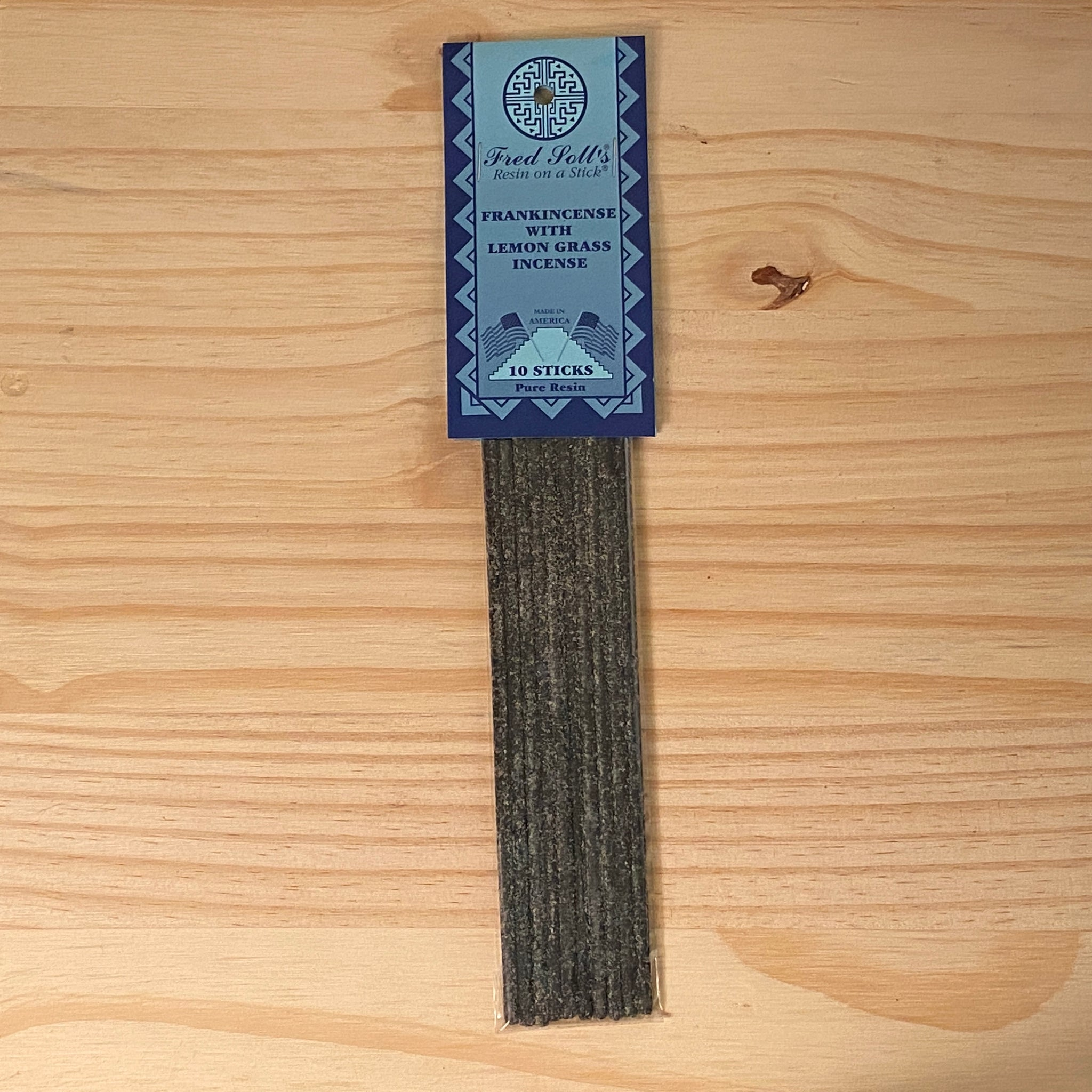 Frankincense with Lemongrass Incense (10 Sticks)