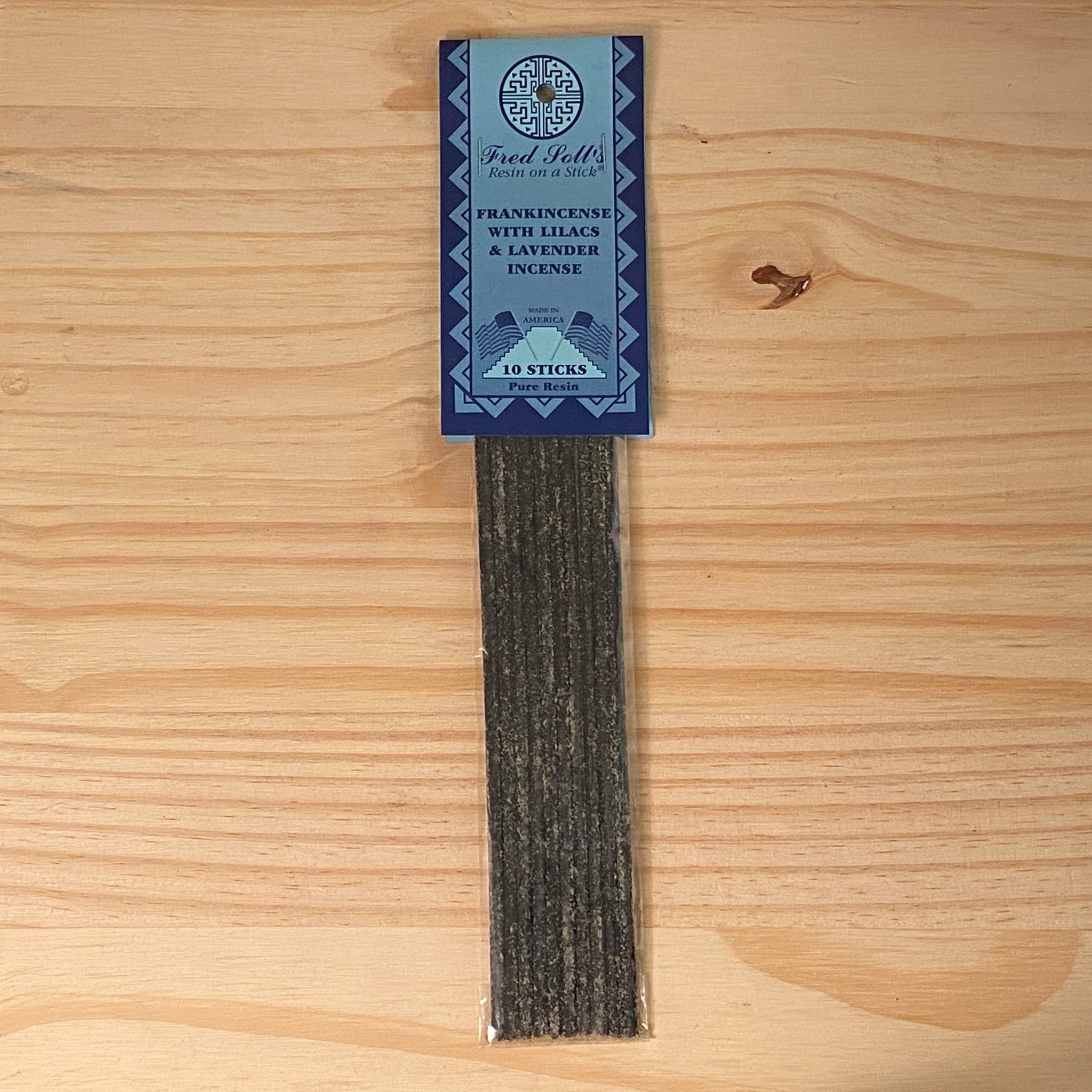 Frankincense with Lilacs and Lavender Incense (10 Sticks)