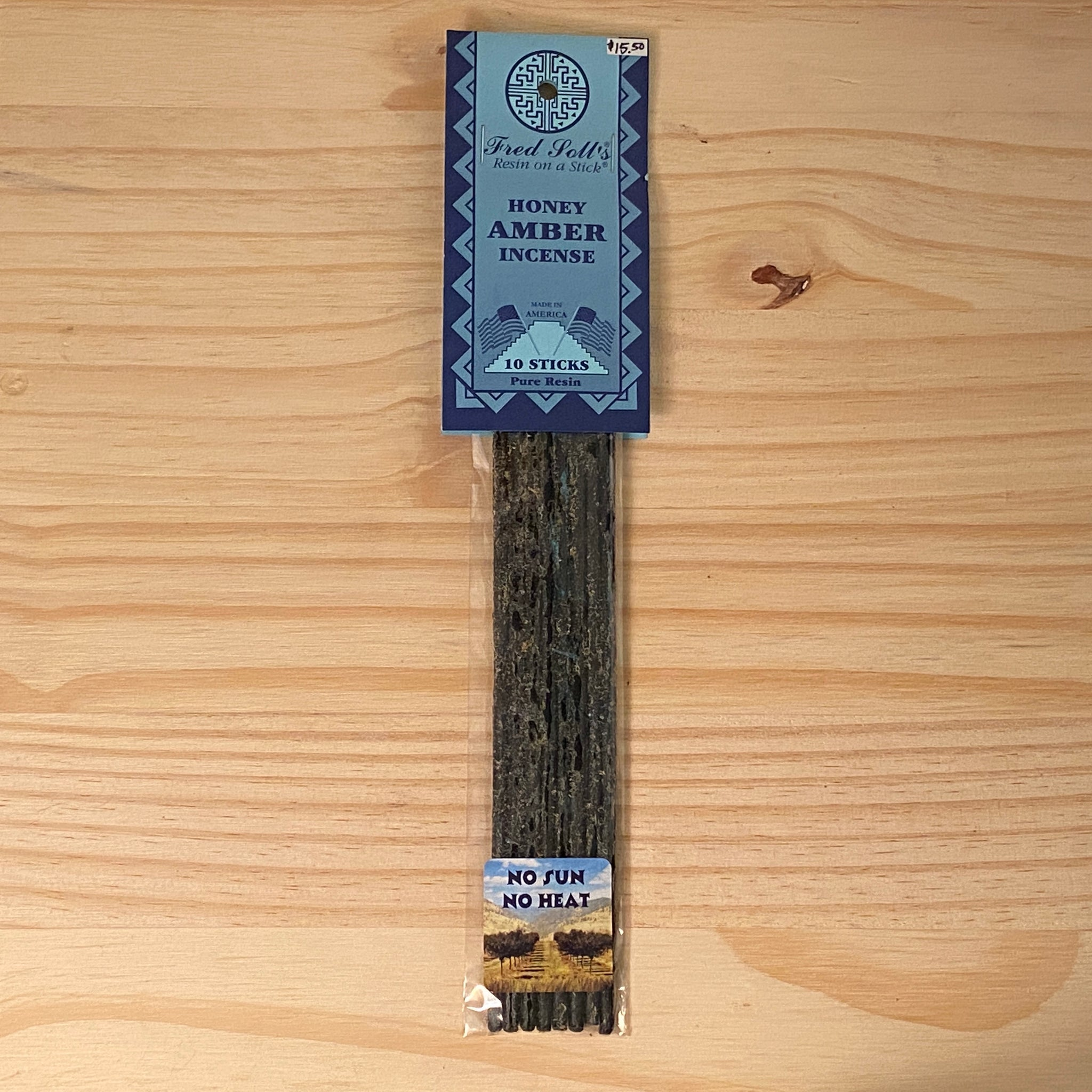 Honey Amber Incense (10 Sticks)
