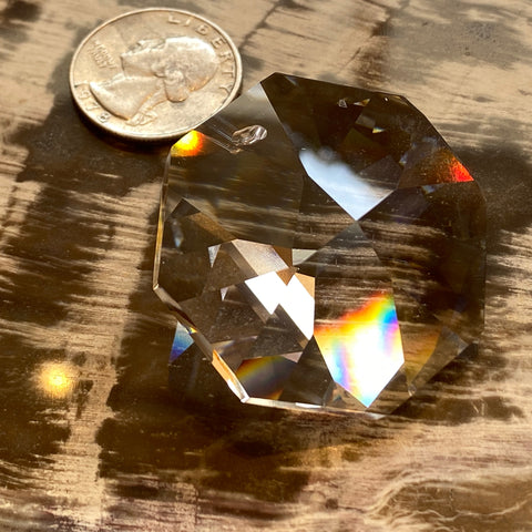 Swarovski Octagon Prism 40mm Cut