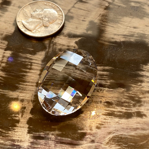 Swarovski Oval Prism 30mm Cut